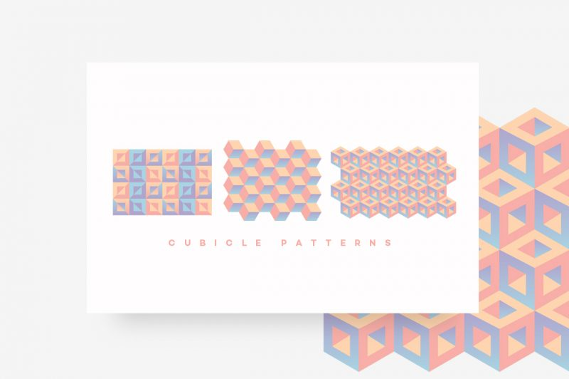 Geometric Patterns Toolkit-CUBICLE PATTERNS