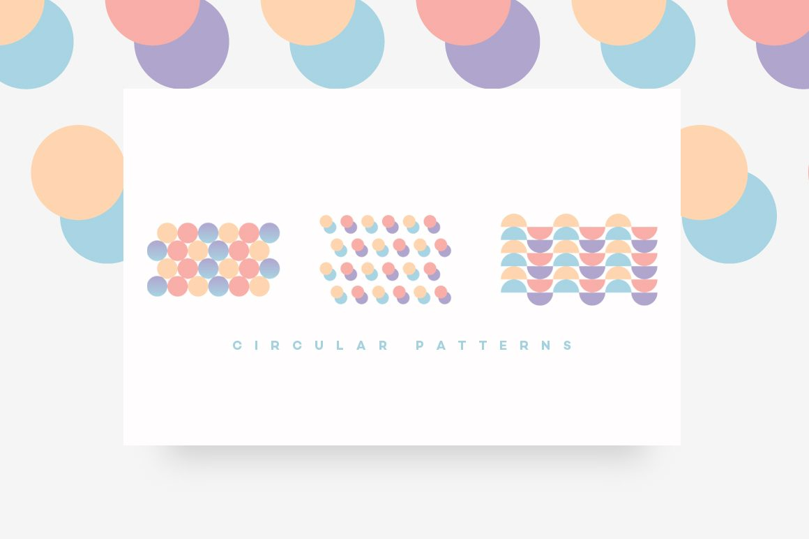 Geometric Patterns Toolkit-CIRCULAR