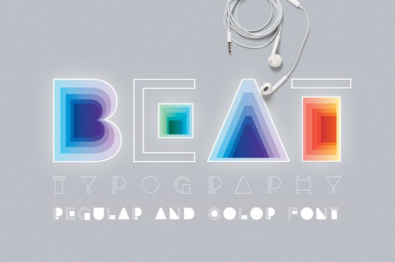 BEAT typography