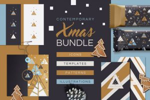 Contemporary Xmas Bundle