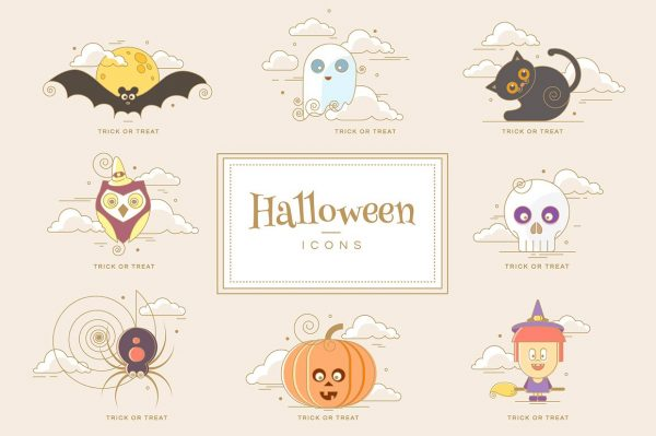 Adorable Halloween Characters