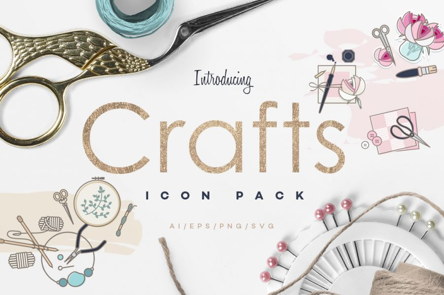 Crafts Icon Pack