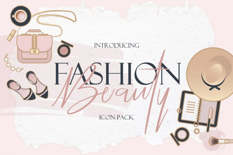 Beauty & Fashion Icon Pack