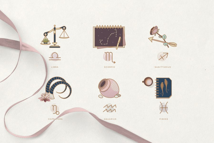 The Ultimate Astrology Icon Pack- Zodiac signs