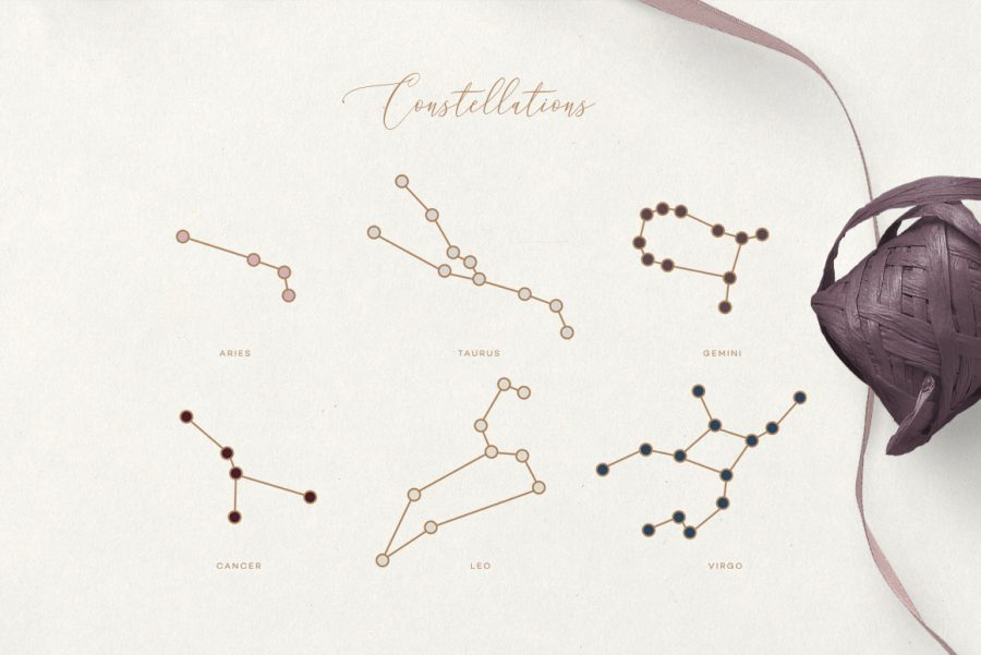 The Ultimate Astrology Icon Pack- Zodiac constellations