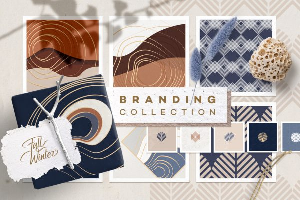 Fall Winter Branding Collection
