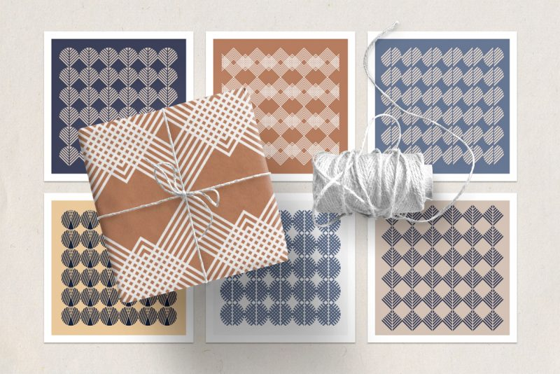 Fall Winter Branding Collection-seamless patterns