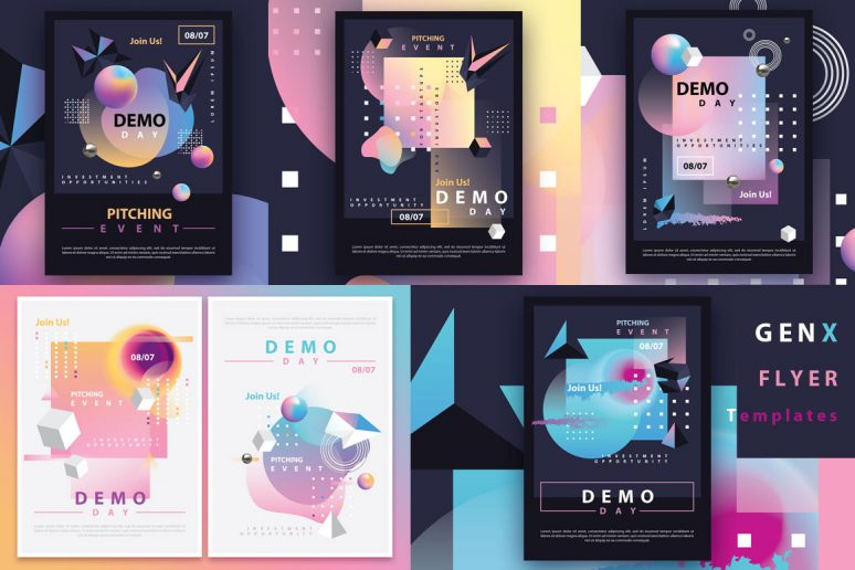 GENX-Flyer-Templates