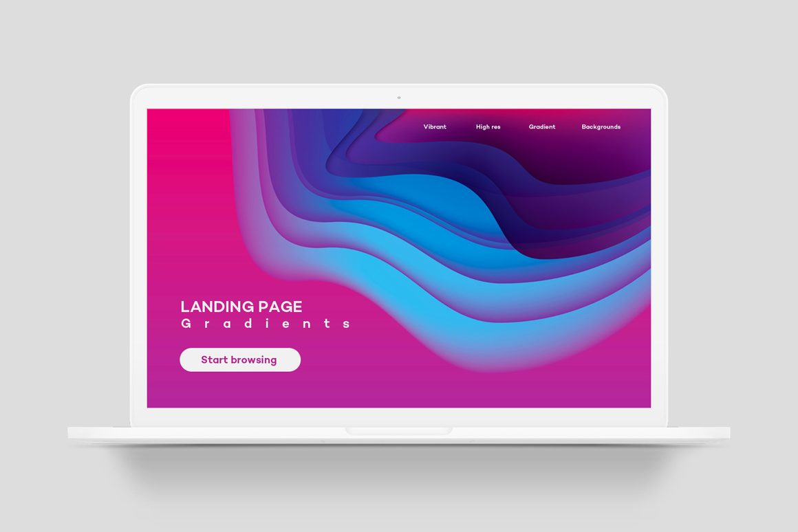 Landing Page Gradients