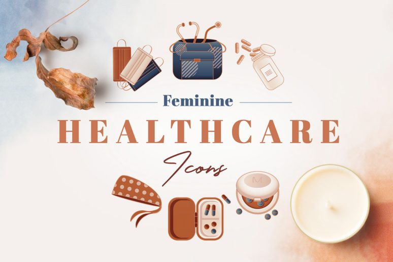 Feminine-Healthcare-Icons