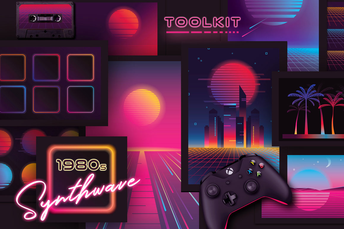 1980s-Synthwave-Toolkit