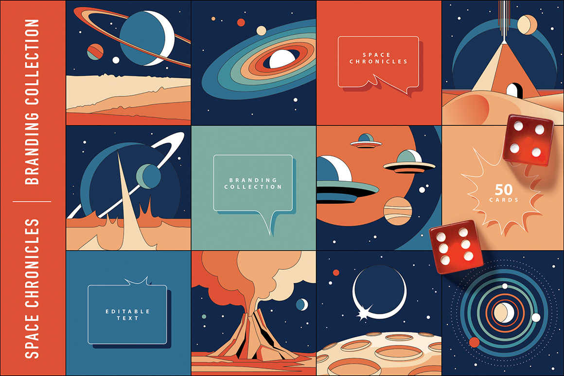 Space-Chronicles-Branding-Collection